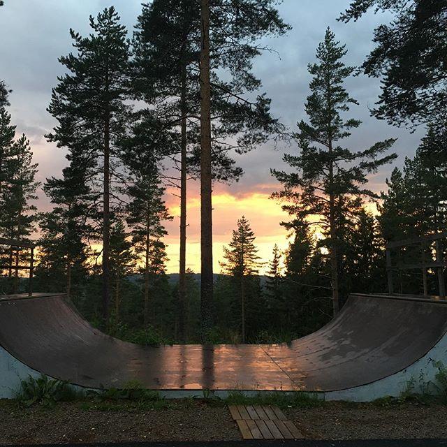 Sunset at Havumäki Ranch